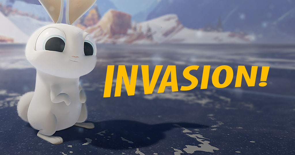 An image of invasion